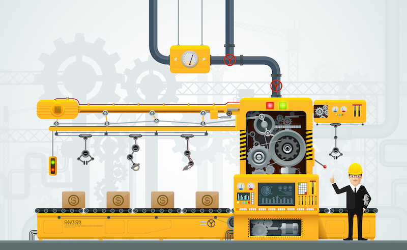 Described how to handle Heavy Weight Cargo. Installing machines such as Molding Machines, Press Machines, Filing Machines, Lathe and Furnace.