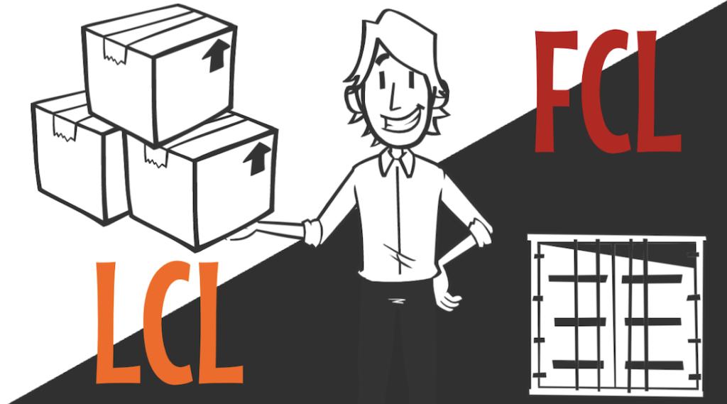 LCL – 混載貨物輸送