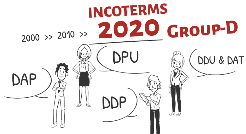 INCOTERMS 20202 DAP/DPU/DDP explained. How to use properly D group?