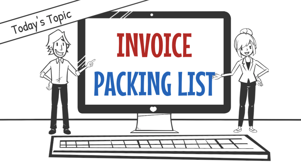 How to write Invoice and Packing List