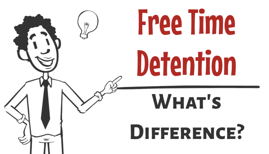 Difference between Free Time, Demurrage and Detention