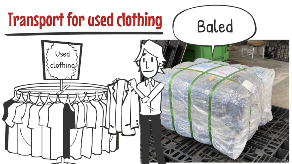 How to export Used Clothing efficiently