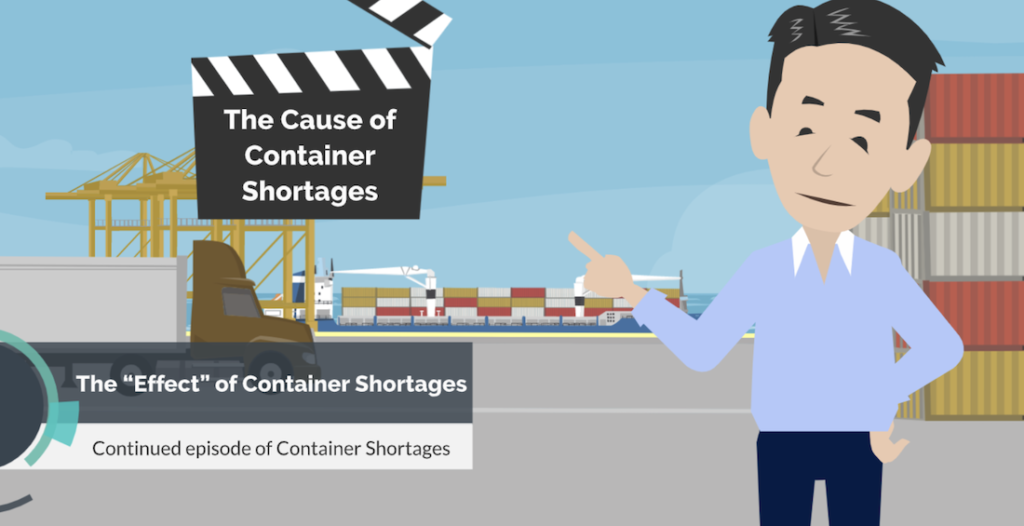 The effect of container shortages in 2020
