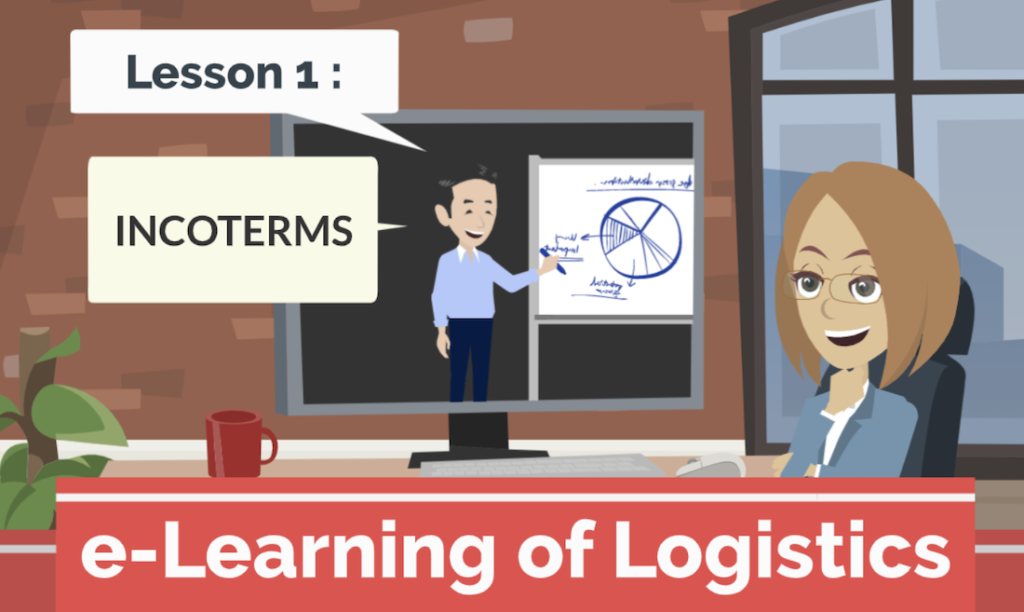e-Learning of Logistics! Free contents for beginner staff training.