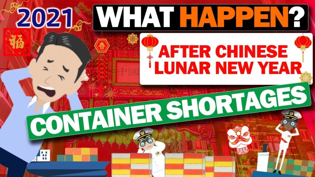 The current container shortages after the Lunar New Year