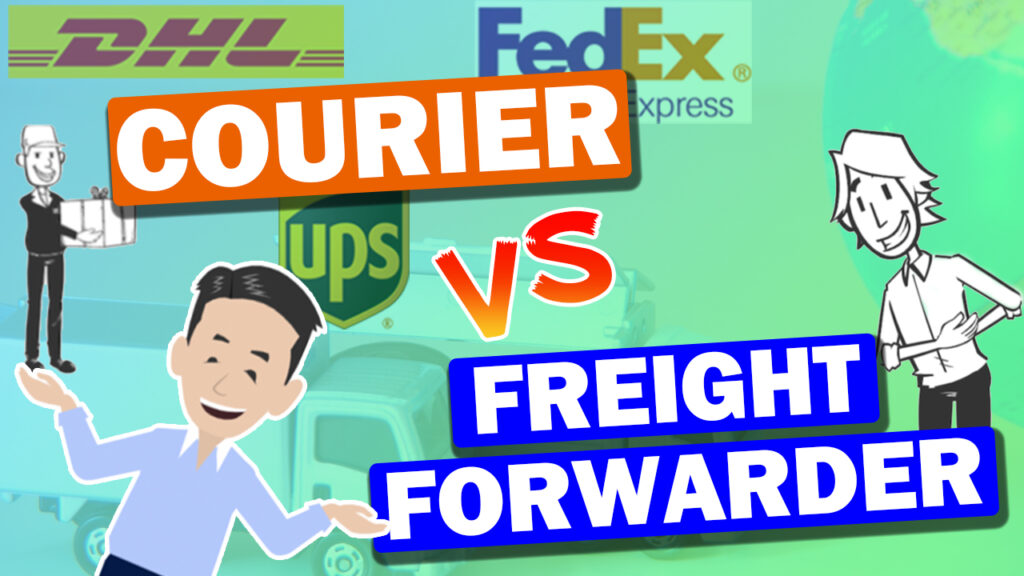 Difference between Freight Forwarder and Courier