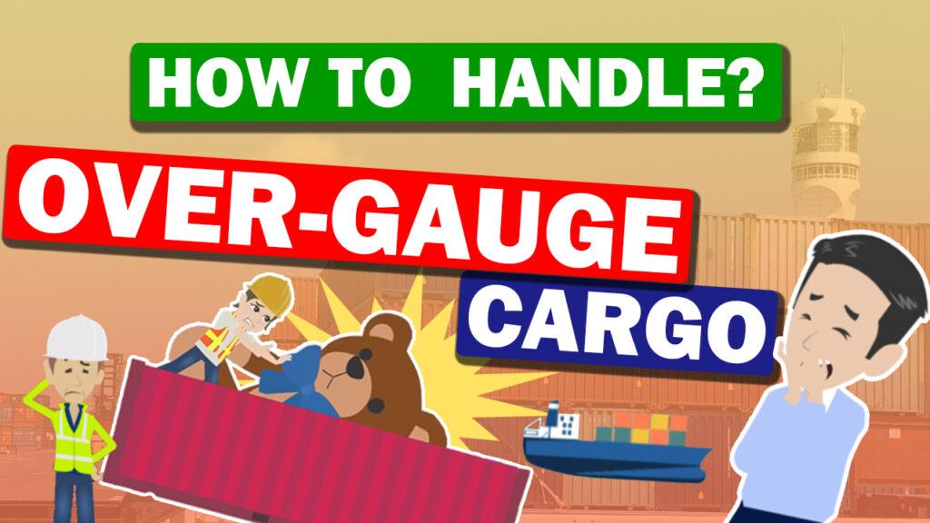 Over-gauge cargo transportation